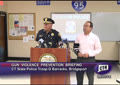 Click to Launch Governor Malloy & Law Enforcement Officials Briefing in Bridgeport on Gun Violence Prevention Strategies